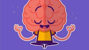 Cérebro Meditando