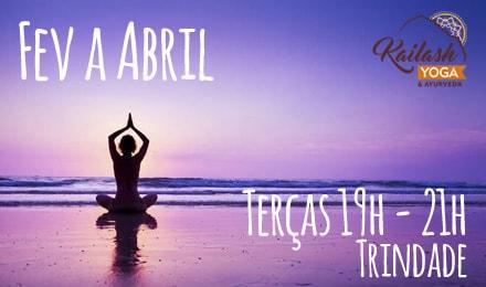 Curso de Meditação Fev a Abril Kailash (Noite)