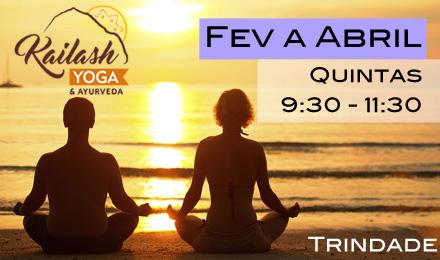 Curso de Meditação Fev a Abril Kailash