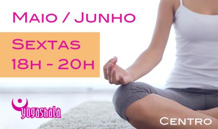 Curso de Meditação Maio e Julho Yogashala